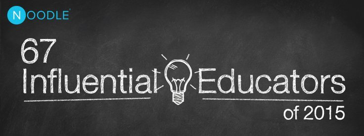 67 influential educators changing the way we learn in 2015 featured image fandeluxe Gallery
